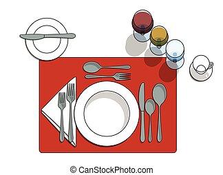 Table setting Stock Illustrations. 6,197 Table setting clip art ...