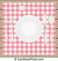 Table setting, etiquette.