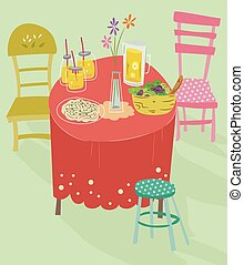 Table Setting Whimsical