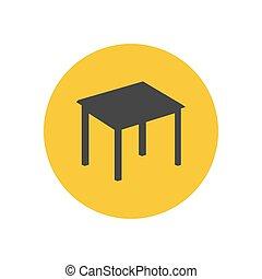 table, silhouette, cuisine