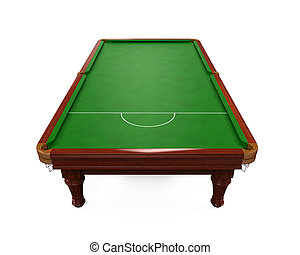 table, snooker, isolé