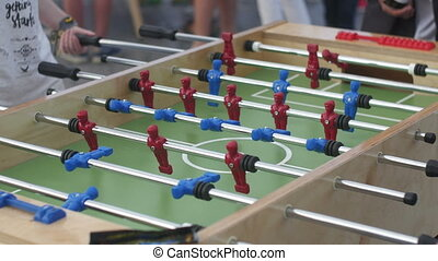 Table Soccer - Foosball game
