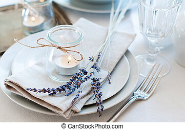 table, style, monture, provence