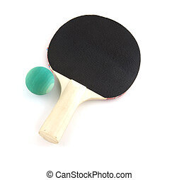 Table tennis bat and ball
