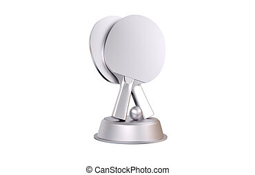 Table Tennis Silver Trophy