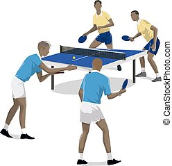Table tennis two.