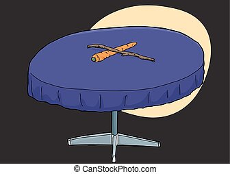 Table with Carrot and Stick