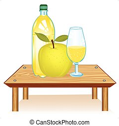 Table with drink