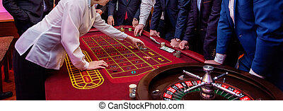 table with Roulette