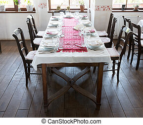 Table without guests