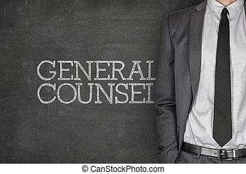 tableau noir, conseil, général