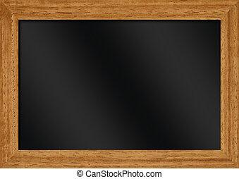 tableau noir, illustration, vide