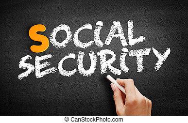 tableau noir, social, texte, sécurité