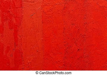 tableauabstrait, arrière-plan rouge, vermillion