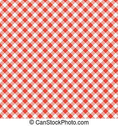 tablecloth, piknik, próbka, wektor