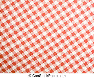 Tablecloth texture-checked fabric - checkered fabric useful...