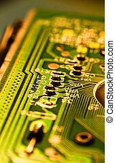 tablero de circuitos