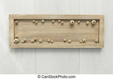 tablero de madera, 2