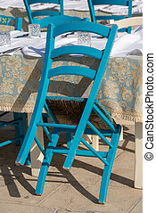 Tables and Chairs - Traditional Italian Restaurant