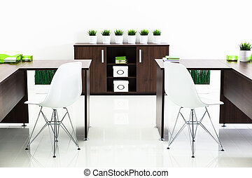 tables on white background