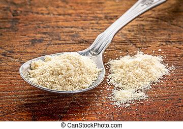 tablespoon of whey protein powder