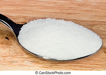 tablespoon salt - tablespoon of finely ground sea salt close...