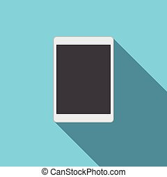 Tablet Blank Screen Computer Digital Device Icon