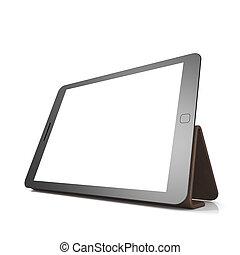tablet, blank