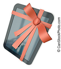 Tablet computer as a gift