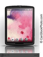 Tablet Computer & Mobile Phone.