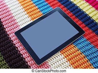 Tablet computer.