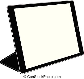 Tablet computer with cover