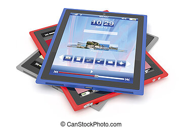 tablet, computers