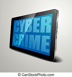 tablet cyber crime