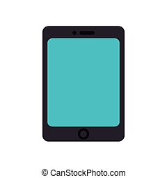 tablet device screen