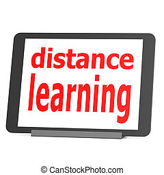 Tablet distance learning