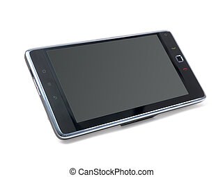 Tablet - A tablet isolated against a white background
