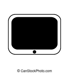 tablet electronic device icon