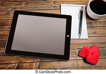 Tablet empty screen