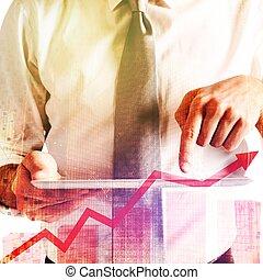 Tablet financial market