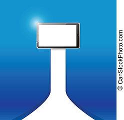 tablet illustration design