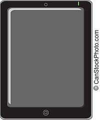 tablet - illustration of tablet