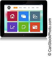 Tablet Internet Website