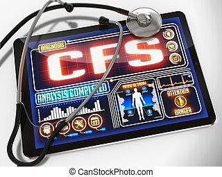 tablet., orvosi, bemutatás, cfs