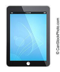 tablet, pad.