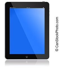 Tablet PC - tablet PC-portable computer tablet glossy black...