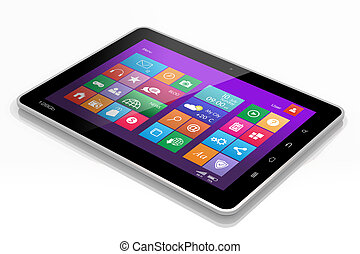 Tablet PC interface