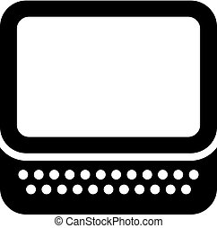 Tablet pc with a keyboard
