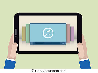 tablet player