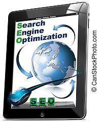 Tablet SEO - Search engine optimiza